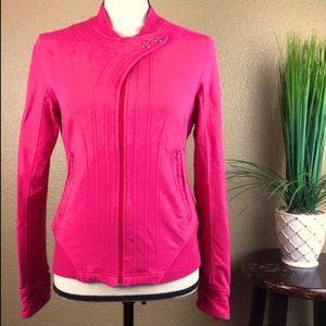 Lululemon Game Day Moto Jacket Bonbon Pink